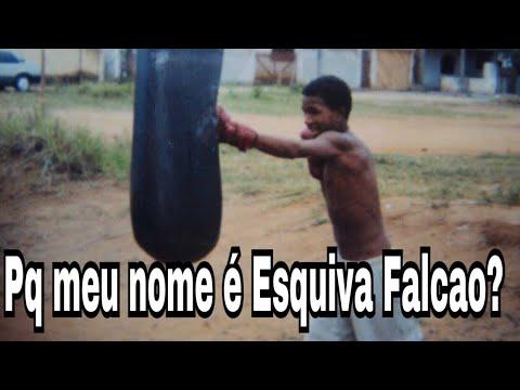 Seu nome é Esquiva ? Pq Esquiva Falcao ?