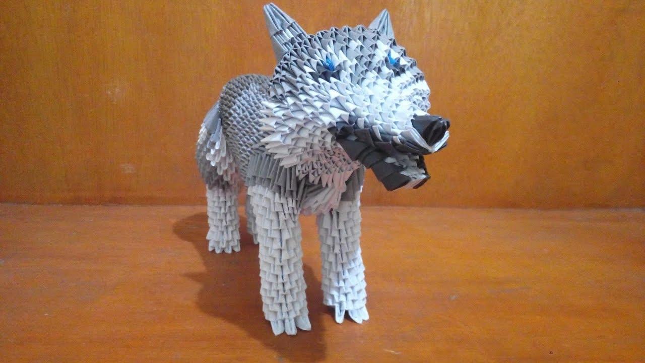 Cómo hacer un lobo de origami (con imágenes) - wikiHow | 720x1280