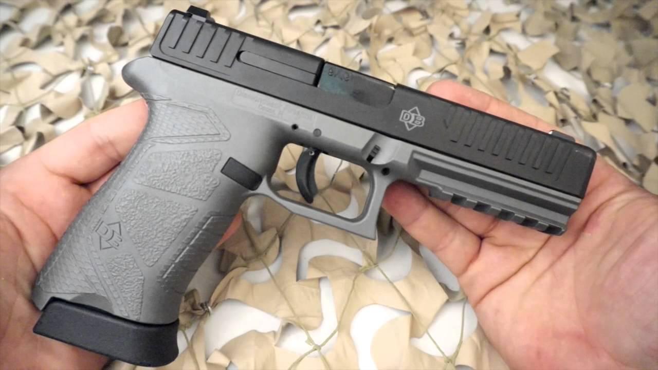 Diamondback DB9FS Full Size 9mm Ghost Grey Cerakote Pistol - New ...