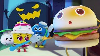 かさっとかいじゅうがきた★ドーナツのチャレンジ第2話 | 赤ちゃんが喜ぶアニメ | 動画 | ベビーバス| BabyBus