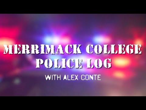 Merrimack College October Police Log with Alex Conte