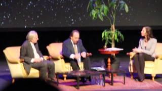 Richard Dawkins and Lawrence Krauss in Antwerp