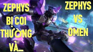 Cách Zephys hành Omen như con Liên quân