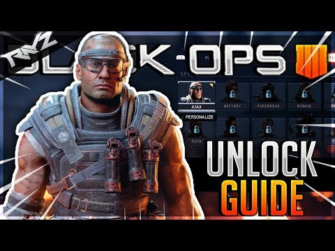 How To Unlock Ajax Numbers Outfit! | Blackout Skin Guide (How To Unlock Skins Black Ops 4)