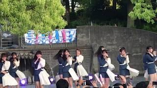 20190505 ラストアイドル 「眩しすぎる流れ星」 in 山下公園(横浜)