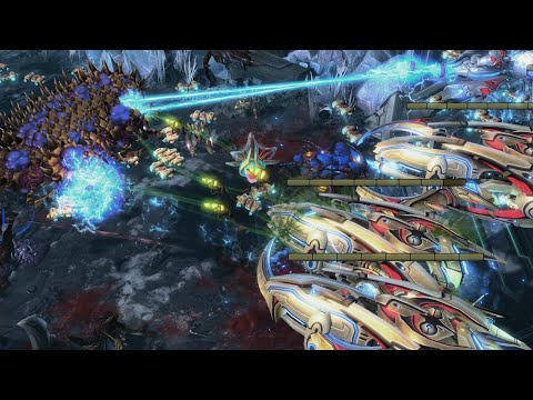 Neeb (P) v Scarlett (Z) on Ice and Chrome - StarCraft 2 - 2020