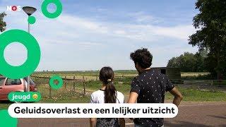 Kinderen in Stadskanaal niet blij met geplande windmolens