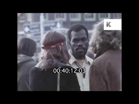 1960s, 1970s Hippies in Dam Square, Amsterdam | Kinolibrary