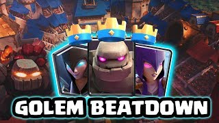 Double Witch Golem Beatdown Decks For Arena 11 | Beatdown God Is Back!!   | Clas