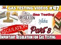 Important regulations for gas testing examination || Gas Testing Examination syllabus part 3 ||
