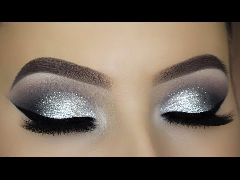 classic-silver-glitter-eye-makeup-tutorial