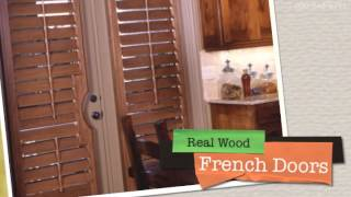 Norman Custom Real & Faux Wood Shutters - Only At Stevesblinds.com!