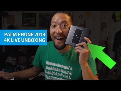 Palm Phone 2018 Unboxing! - World's Smallest Android Smartphone?