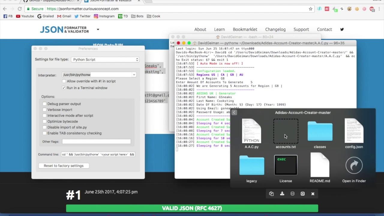 Gmail Account Creator Bot Software MASS Gmail Account