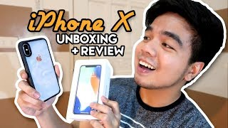 Unboxing the new iPhone X + REVIEW (Philippines) | Red Diaz