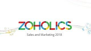 Zoholics Sales \u0026 Marketing 2018 keynote - Sridhar Vembu