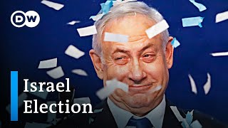 Israel election results: Netanyahu wins most votes, but stays short of majority | DW News
