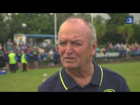 Sir Graham Henry speaks to Leinster TV