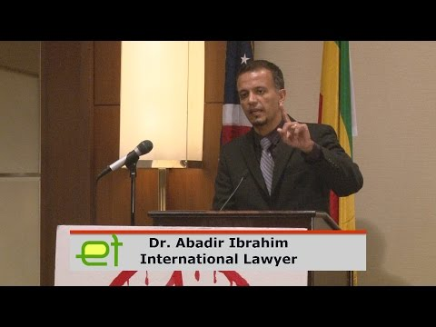 Dr. Abadir Ibrahim presents his analysis on the imprisonment of The Ethiopian Muslims Arbitration