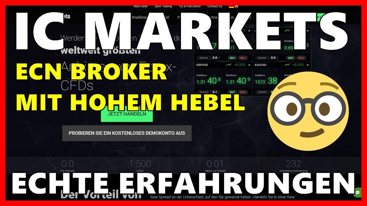 Broker Mit Hohem Hebel