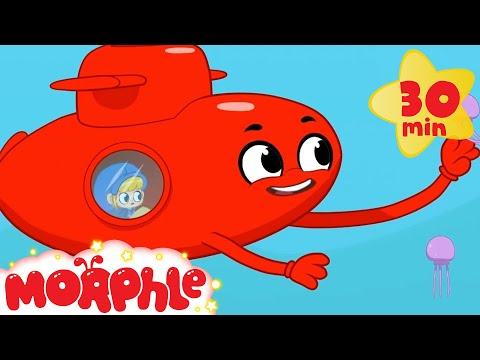 My Magic Pet Morphle - My Red Submarine | Morphle TV | Kids Cartoons