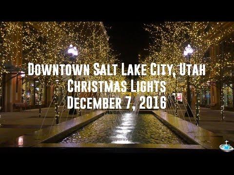 Salt Lake City Christmas Lights (December 2016)