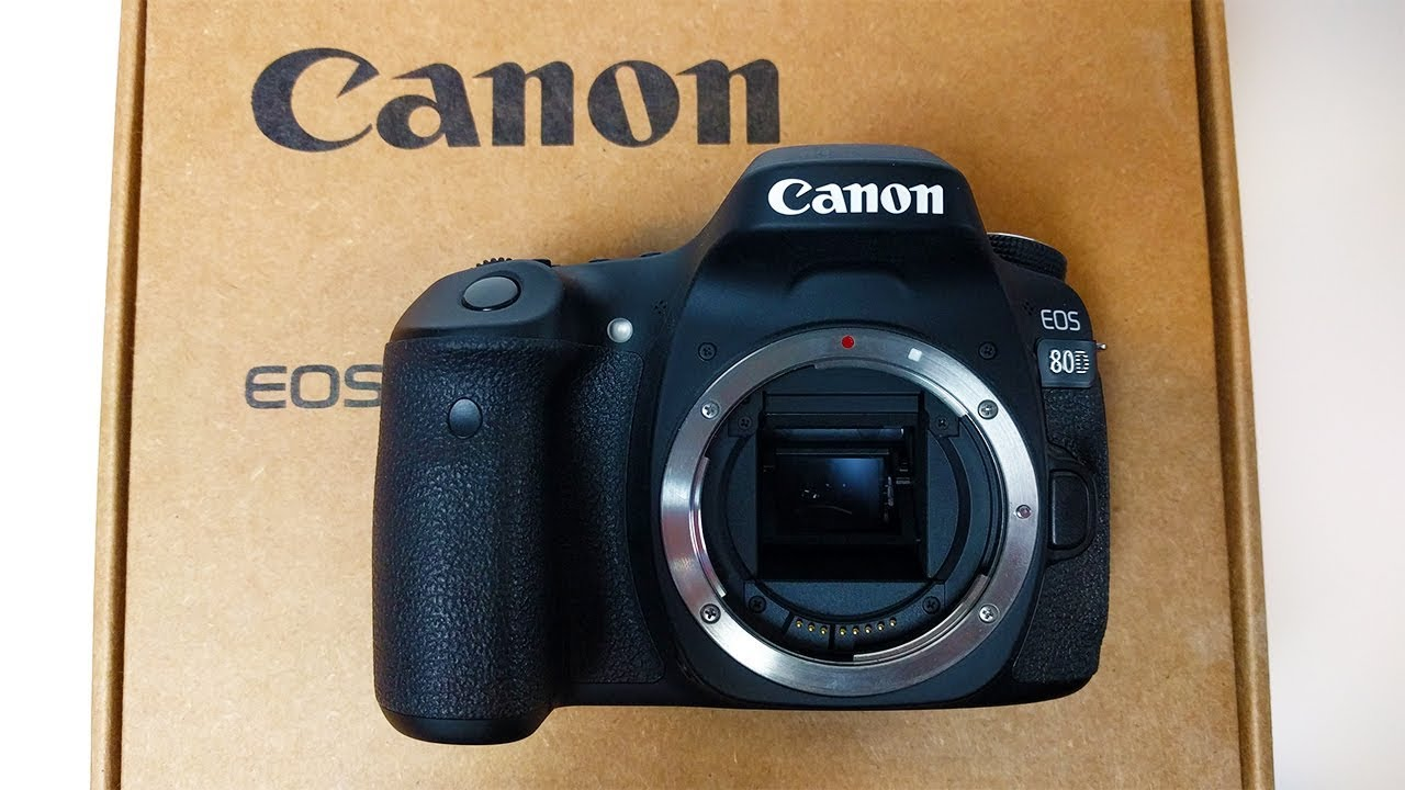 Refurbished Canon 80D Unboxing