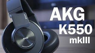 Обзор AKG K550mk3 - тест прекрасных мониторных наушников!
