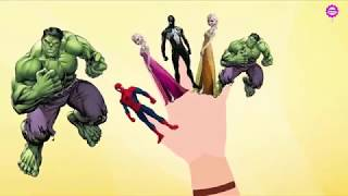 Spiderman Finger Family Song & Story Collections