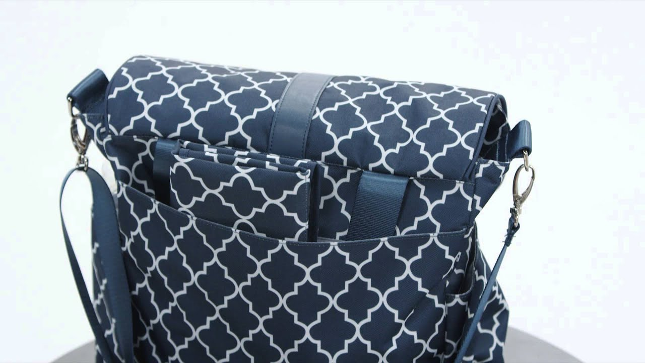 jj cole backpack diaper bag youtube. Black Bedroom Furniture Sets. Home Design Ideas