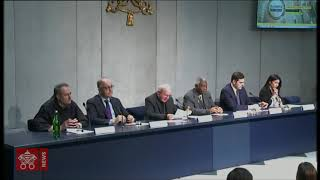 """Press Conference to present the event """"Economy of Francesco"""" 2019-05-14"""