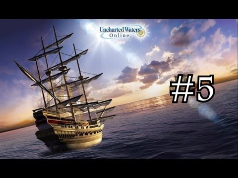 Uncharted Waters Online gameplay pt 5 | Trade Goods & Exploration
