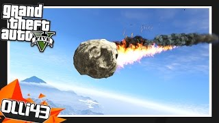 GTA 5 METEOR ARMAGEDDON!! GTA 5 Mods Showcase!