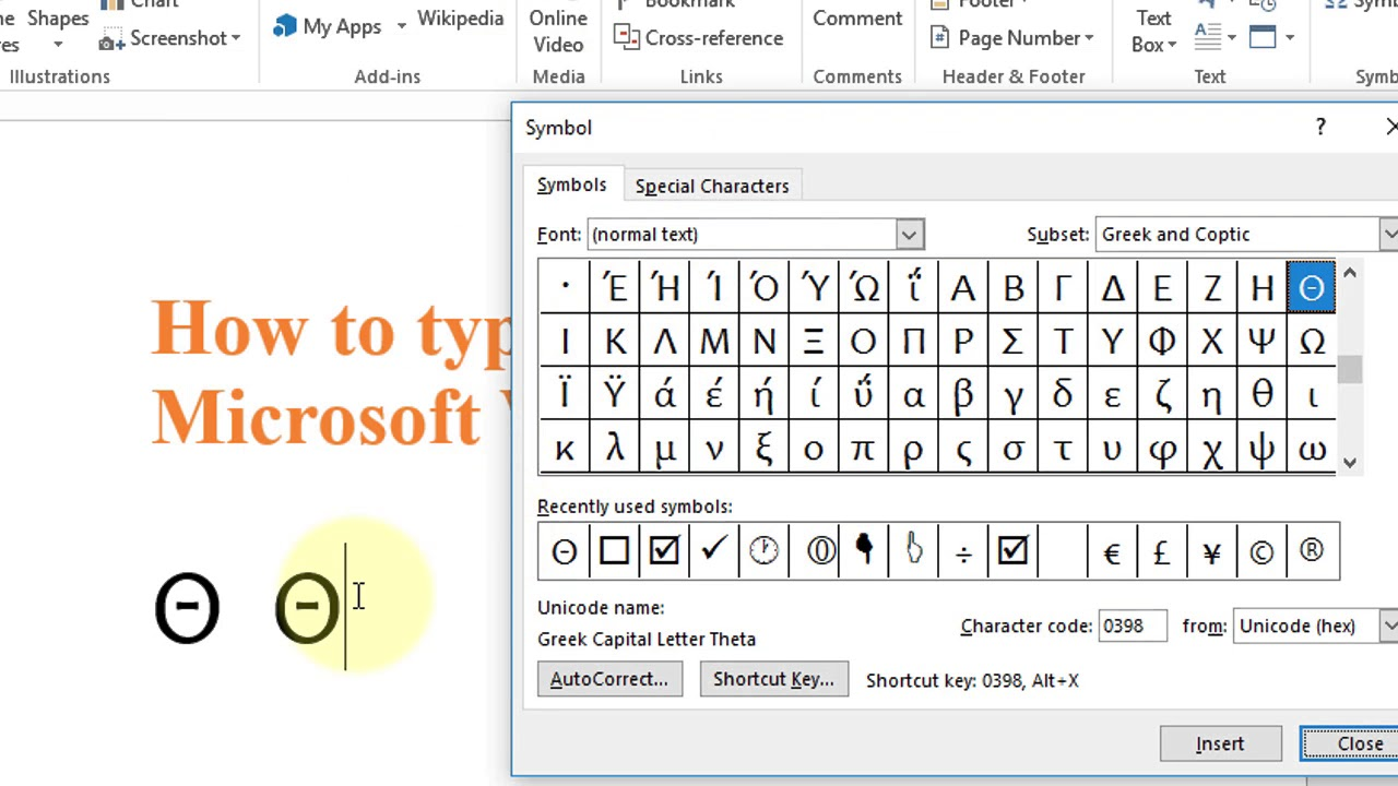 Theta symbol keyboard shortcut choice image symbol and sign ideas theta symbol keyboard shortcut image collections symbol and sign how to type theta symbol in microsoft buycottarizona