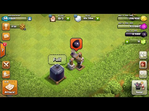 Clash of Clans! With Intro! | DARK ELIXIR IS MAXED FULL, HELP! LOL