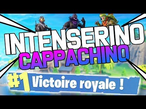 INTENSERINO CAPPACHINO ! | Fortnite Battle Royale