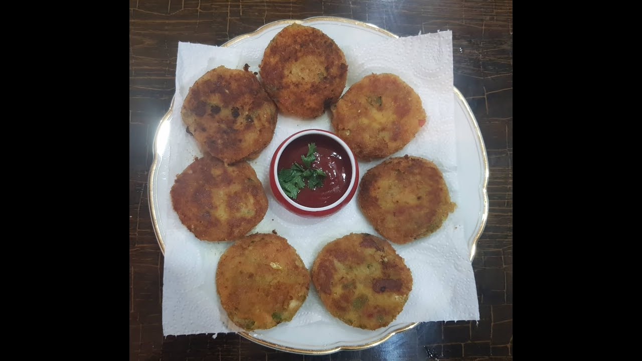 Chicken Vegetables Chinese Cutlets Recipe - YouTube