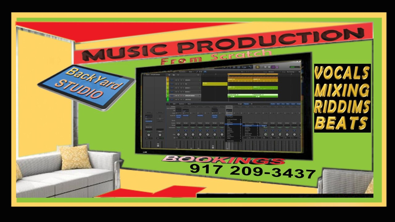 backyard tv recording studio is now in session book now youtube