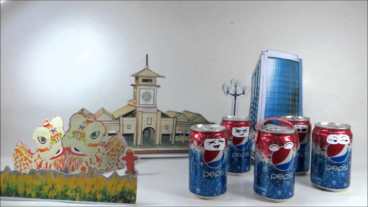 Quảng cáo Pepsi Tết sáng tạo 2012