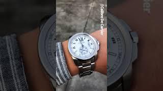 [세로영상] Cartier 까르띠에 칼리브 크로노그래프…