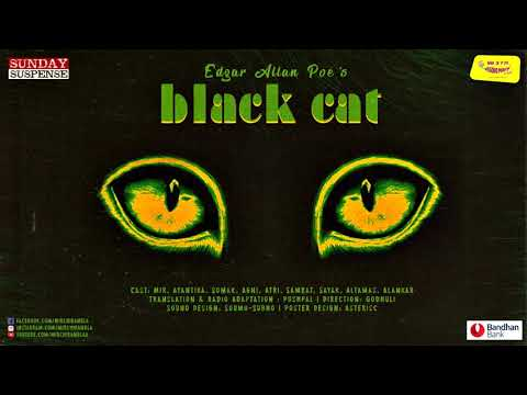 #SundaySuspense | The Black Cat | Edgar Allan Poe | Mirchi Bangla