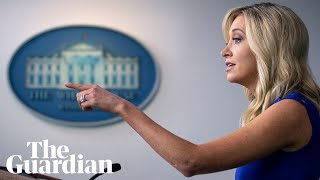 Kayleigh McEnany holds sudden White House press briefing - watch live