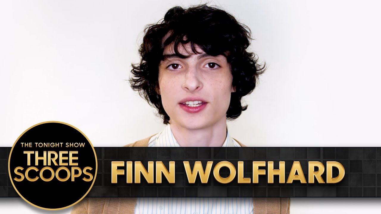 Three Scoops with Finn Wolfhard   The Tonight Show Starring Jimmy Fallon