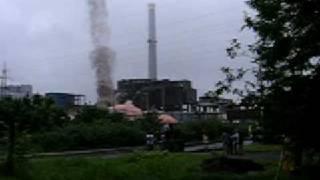 komin elektrowni w Chorzowie