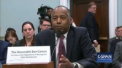"Secretary Ben Carson on $31,000 table: ""I said, 'what the heck is that all about?'"" (C-SPAN)"