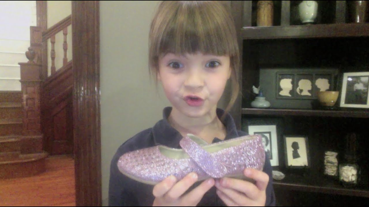6 Yr Old Talks About Why Pretty Wedding Shoes Are A Bad Idea Youtube