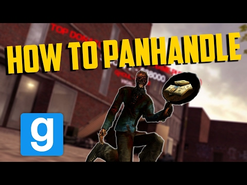 HOW TO PANHANDLE!