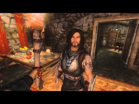 Male mods for Skyrim - YouTube