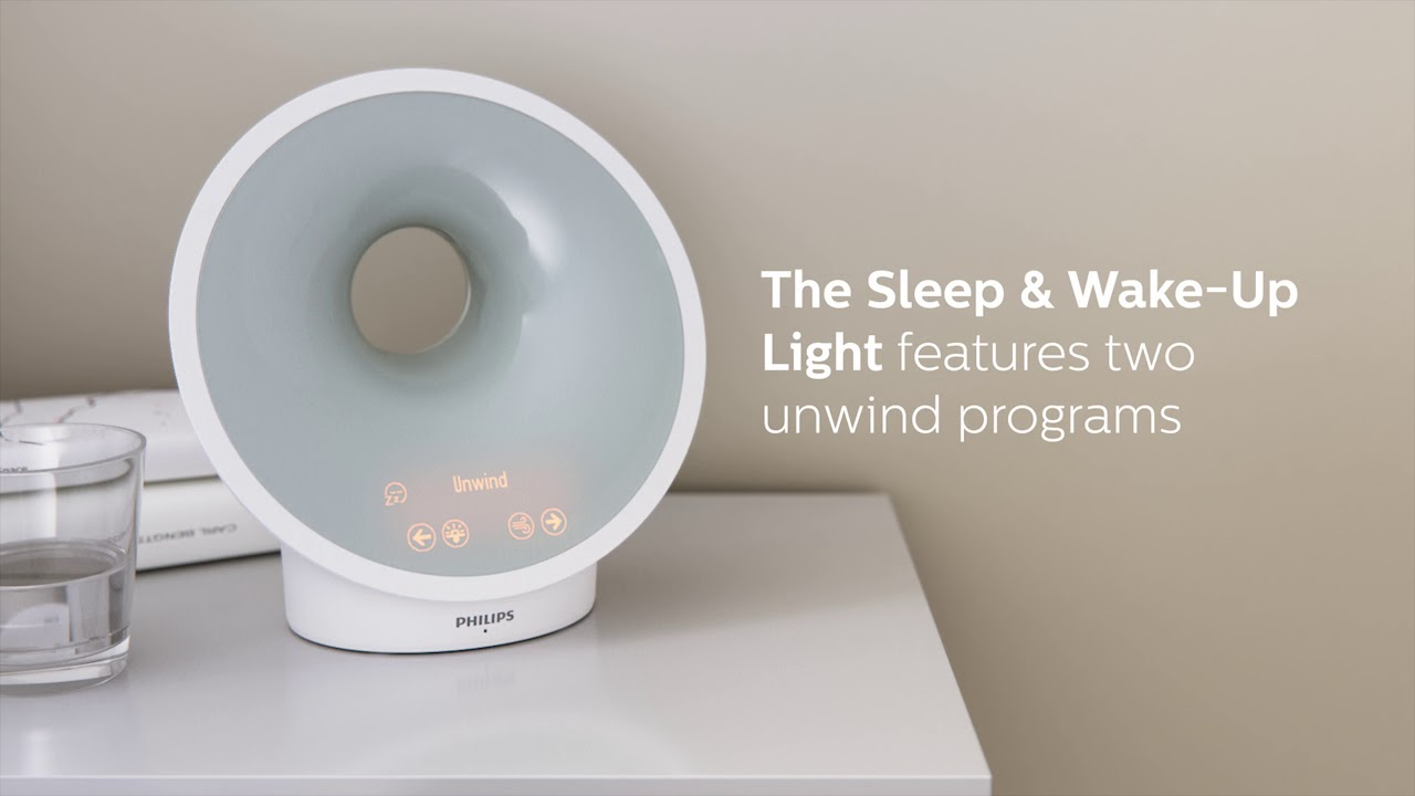 how to set philips wakeup light