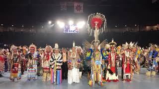 Head Dancer Brando Jack - White Cone, AZ | Gathering Of Nations Powwow 2018